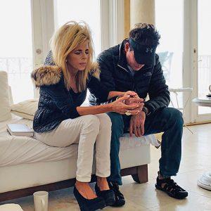 Joe and Gwen Lara Praying